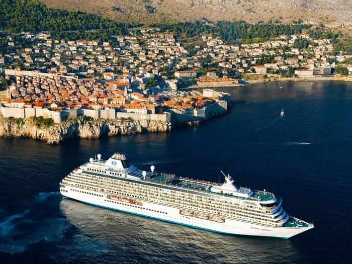 top expensive ocean cruises crystal serenity